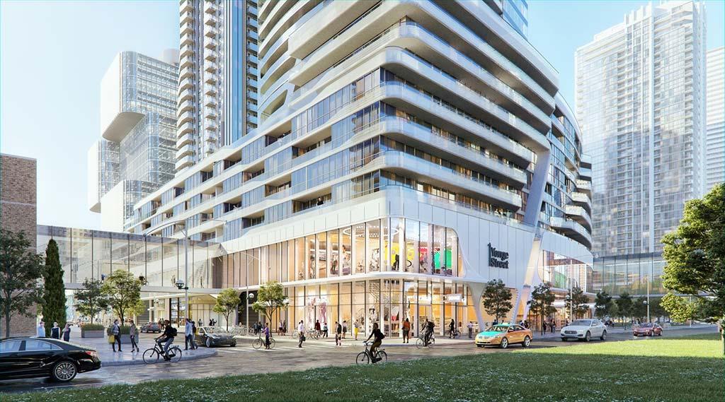 Новый комплекс в Торонто One Yonge