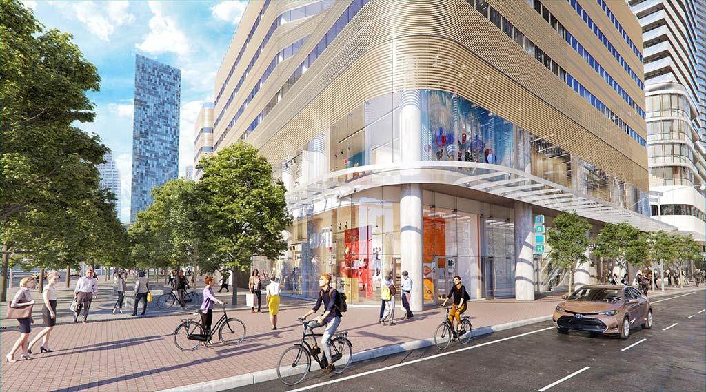 Новый комплекс в Торонто One Yonge от Сиамака Харири