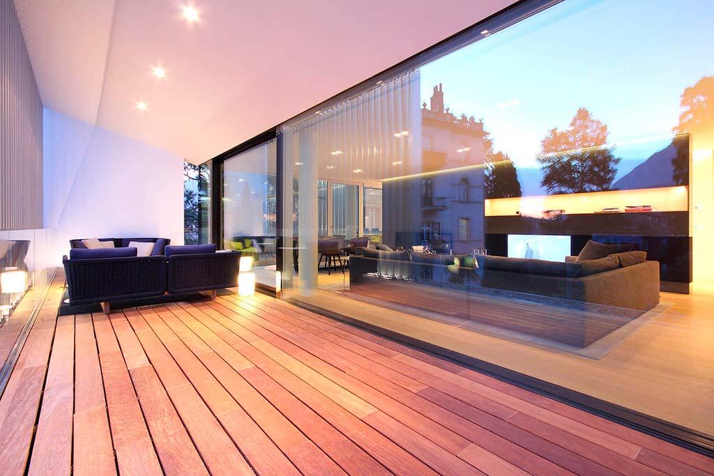 Квартира с шикарной террасой. Дизайн студии JMA
