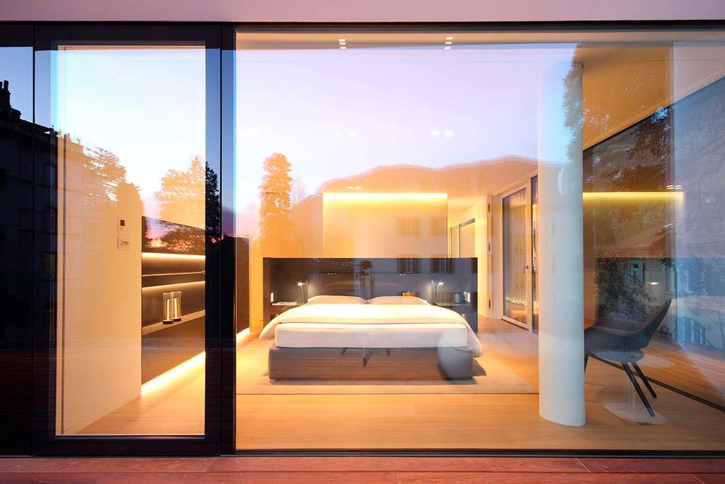 Спальня в квартире комплекса The Runkelsteiner от студии JMA
