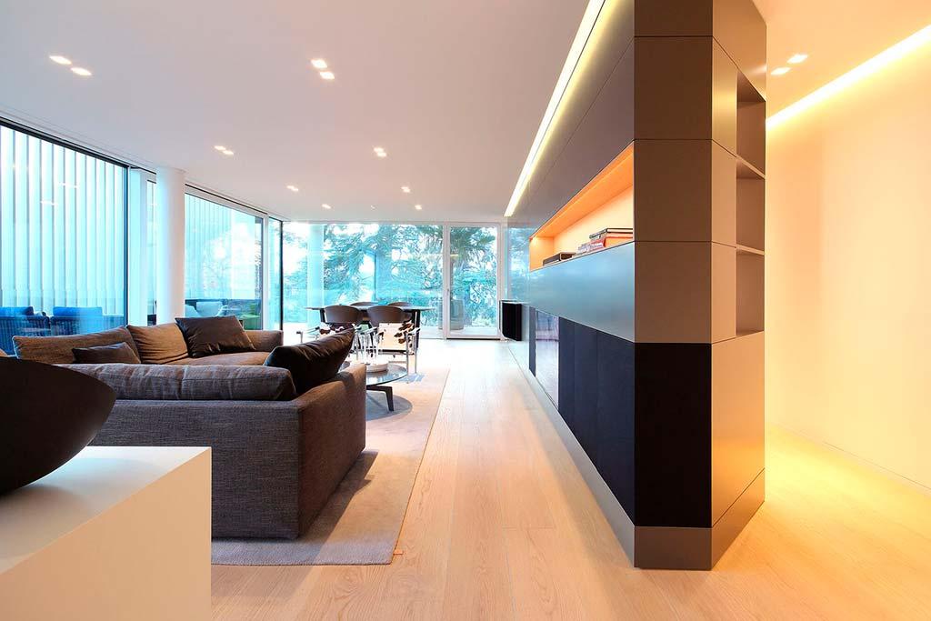 Шикарная гостиная. Итальянский дизайн от JMA