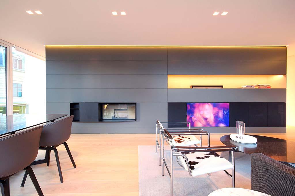 Элитный дизайн гостиной. Итальянская студия JMA