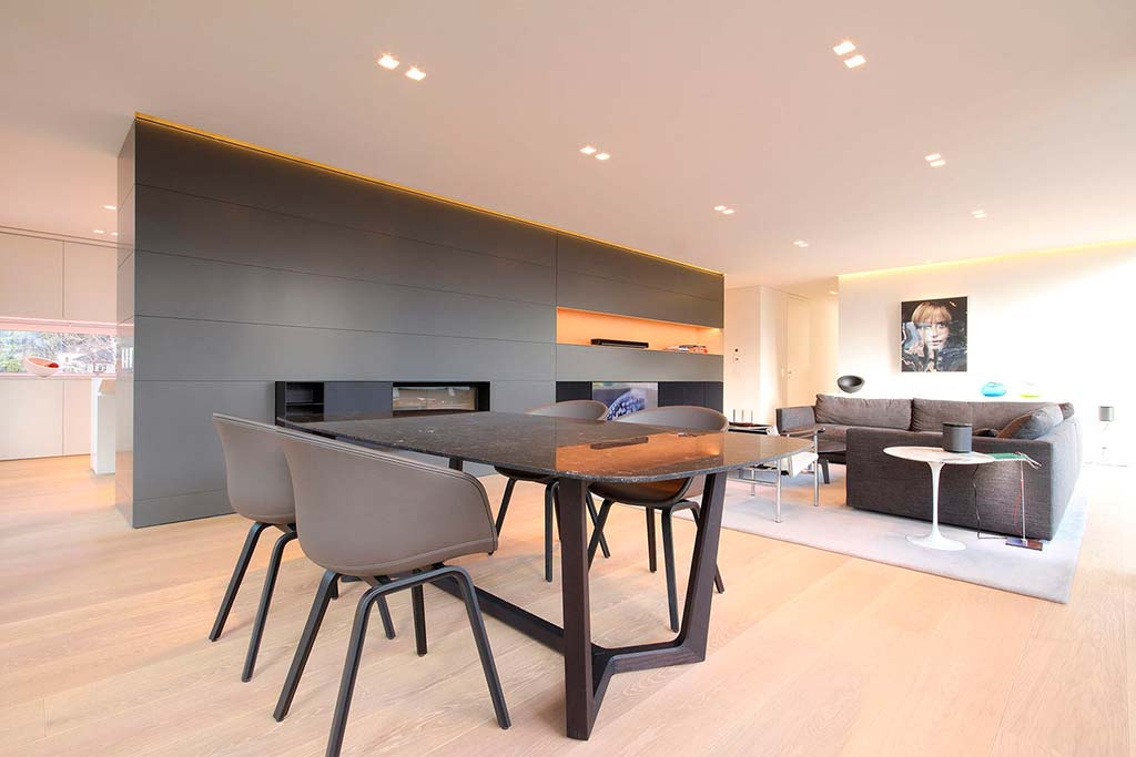 Гостиная-столовая 2-в-1. Дизайн от JMA