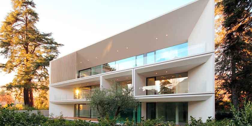 Большой трехэтажный дом в Больцано от студии JMA