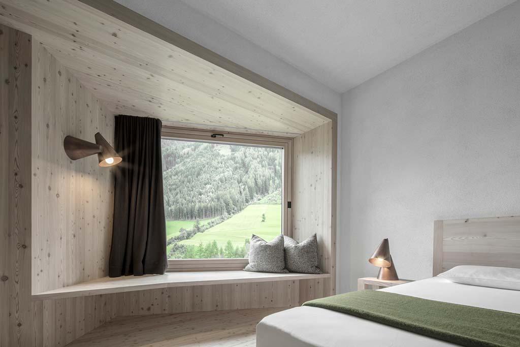 Hotel Bühelwirt: номер в отеле с видом на горы в Италии
