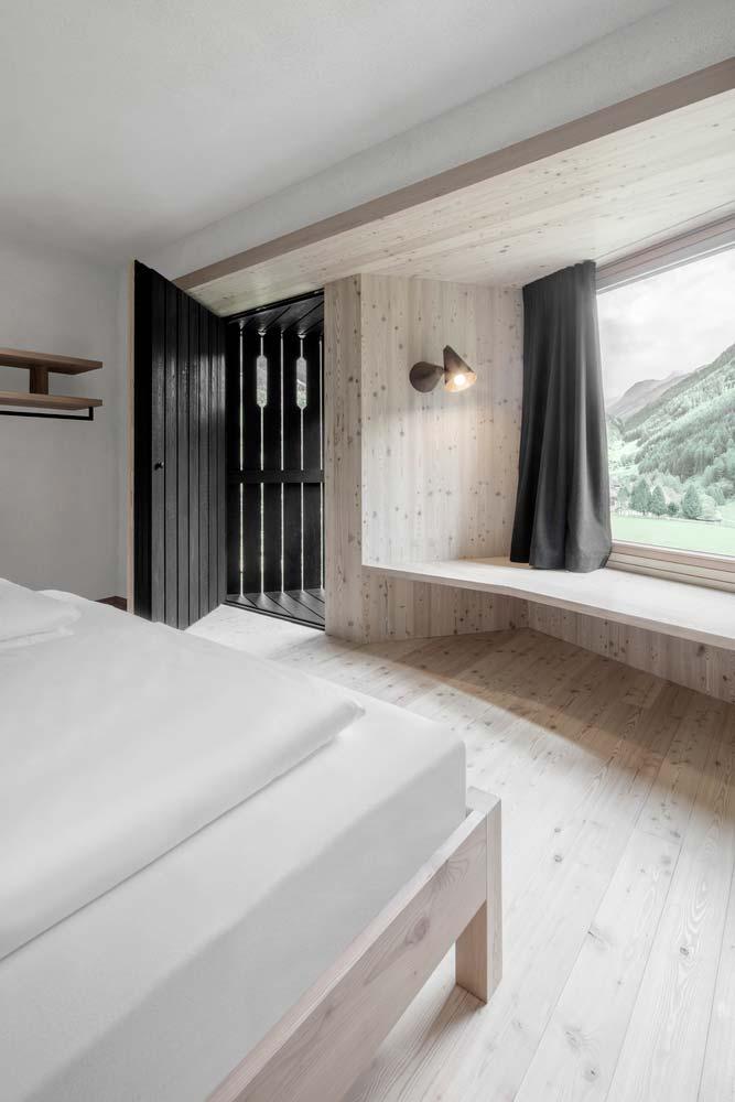 Номер в стиле минимализм от Pedevilla Architects