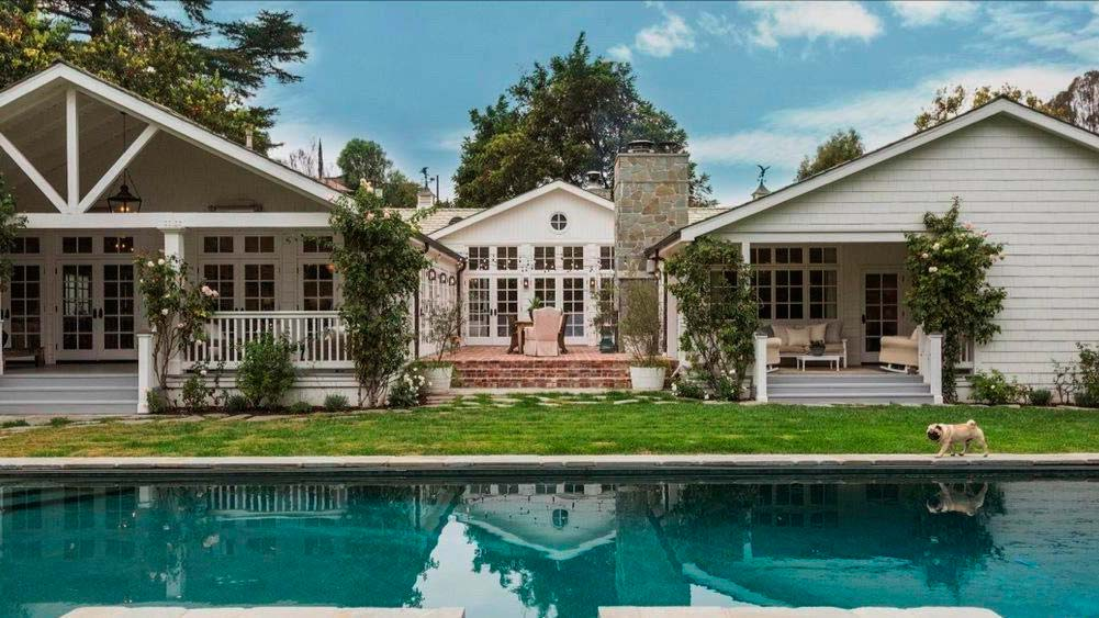Дом актера Майкла Чиклиса в Лос-Анджелесе