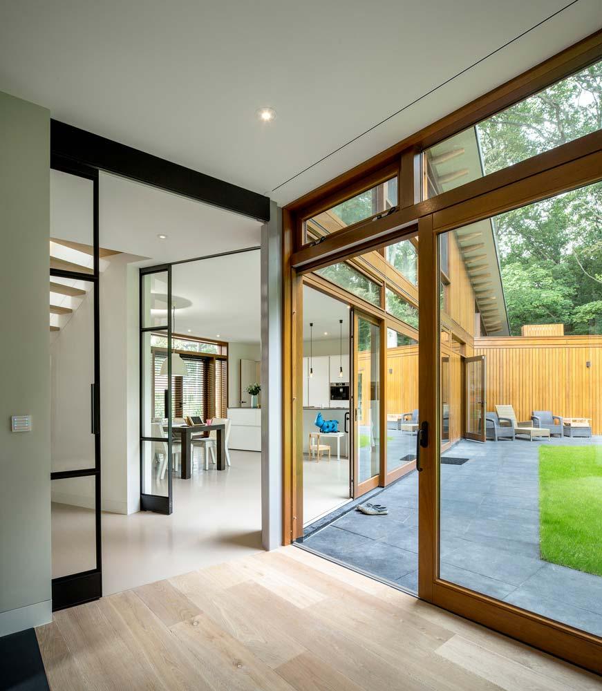 Интерьер дома в стиле минимализм от Moke Architecten
