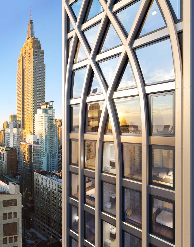 Готический небоскреб в Нью-Йорке от Morris Adjmi Architects