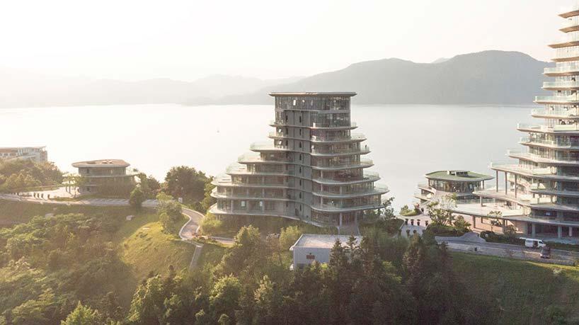 Горная деревняна востоке Китая от MAD Architects