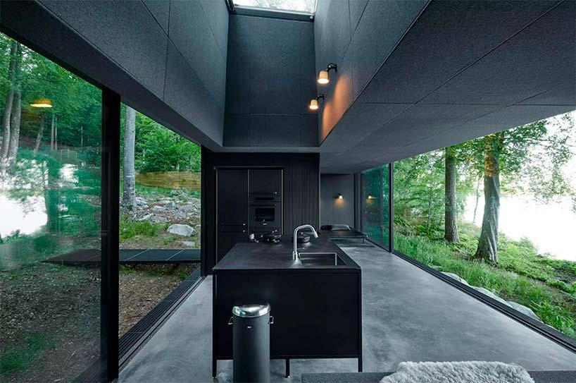 Дизайн интерьера отеля у озера Vipp Shelter