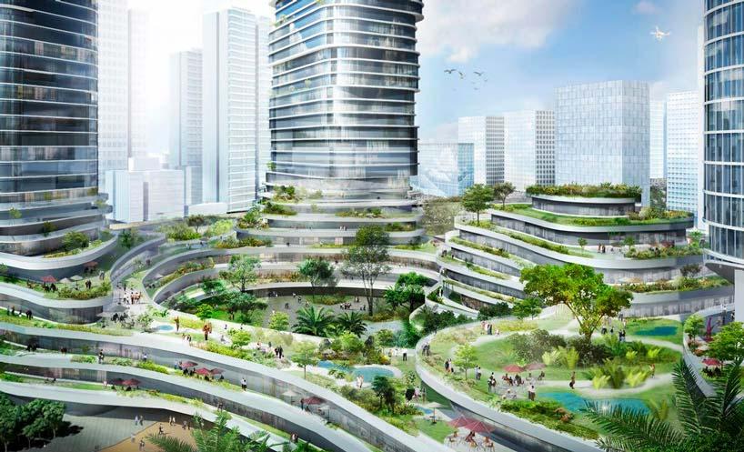 Ансамбль небоскребов Empire City в Хошимине, Вьетнам