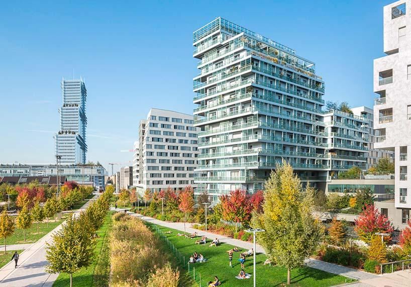 Новое здание суда в 17 округе Парижа от Ренцо Пиано