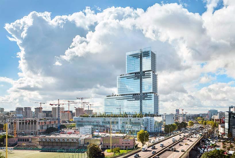 «Трибунал де Пари»: новое здание суда в Париже от Renzo Piano