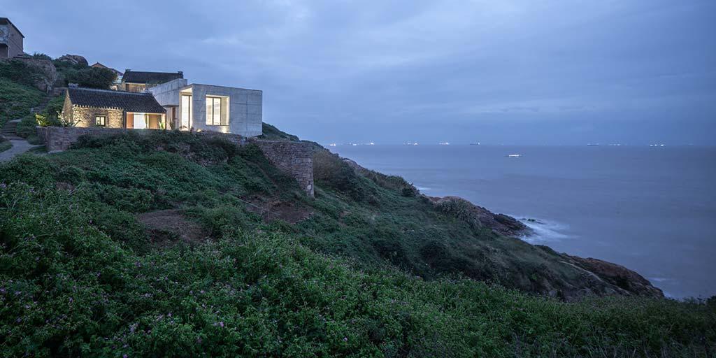 Дом на острове с красивым видом на Восточно-Китайское море