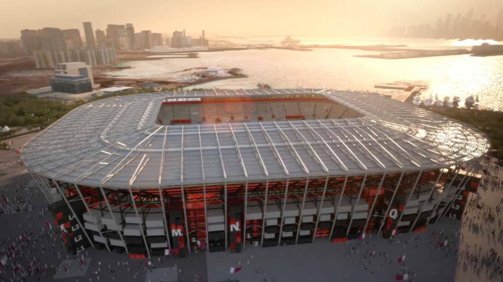 Стадион из контейнеров от Fenwick Iribarren Architects