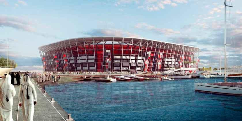 В Катаре построят стадион из контейнеров для чемпионата мира
