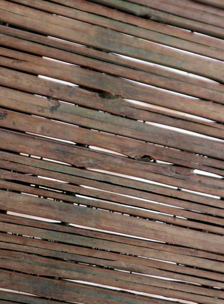 Настил деревянного моста на Бали