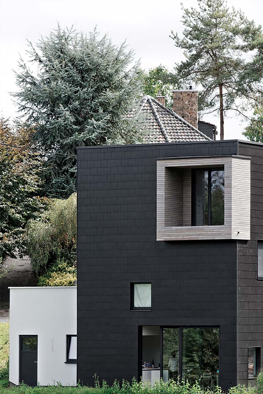Современный дом в Бельгии от URBAN architectes