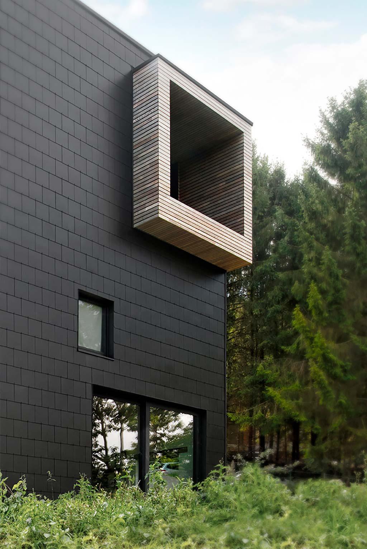 Дом в сельской местности в Бельгии. Проект URBAN architectes