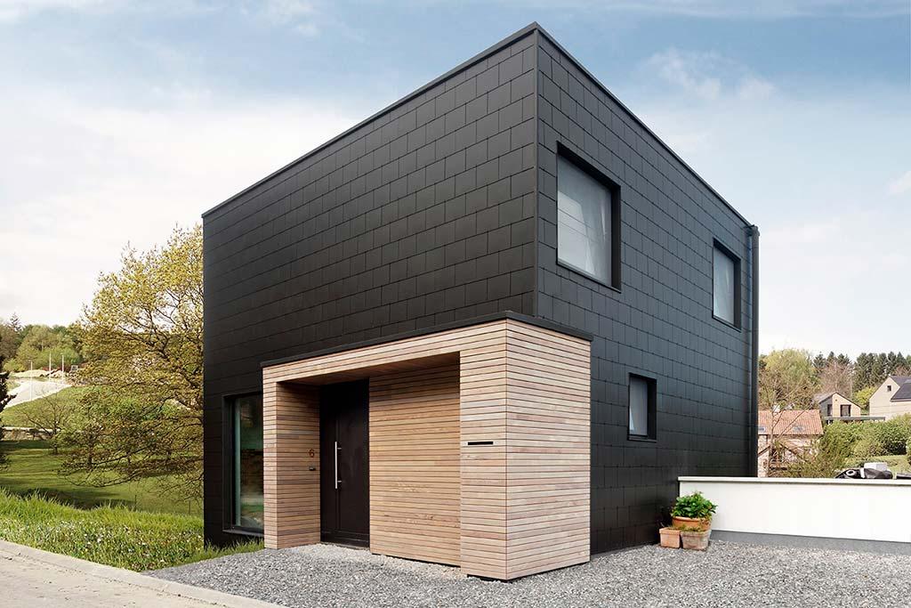 Современный дом для семьи с детьми в Бельгии