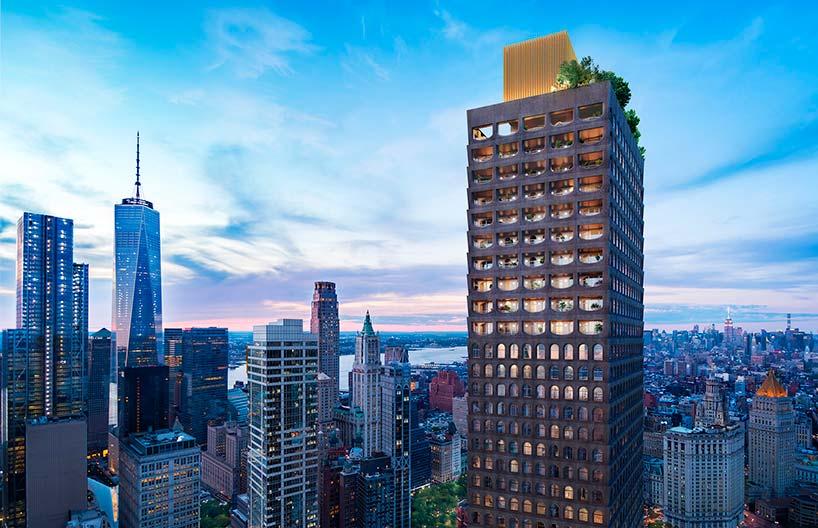 240-метровый небоскреб в Нью-Йорке 130 William