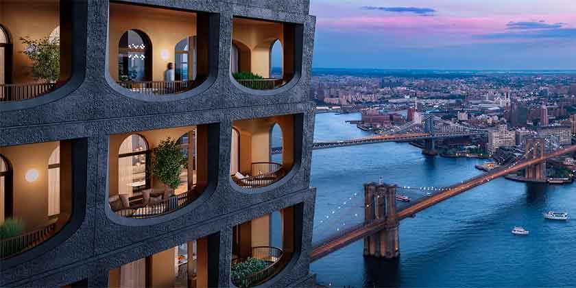 В Нью-Йорке построят небоскреб по проекту Дэвида Аджайе