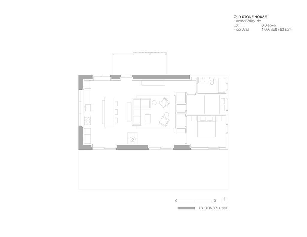 Каменный дом. План от TAKATINA LLC