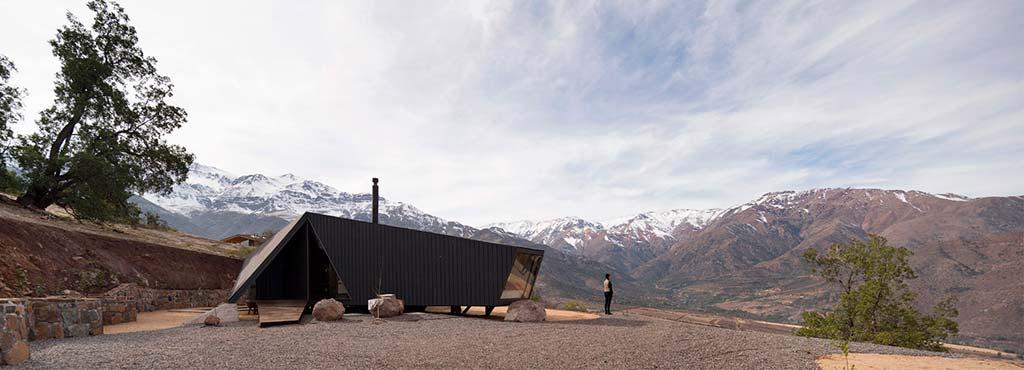 Дом в горах Чили. Проект Gonzalo Iturriaga Arquitectos