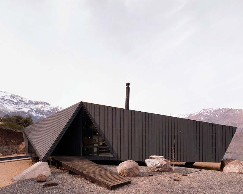 Деревянный дом в Андах. Проект Gonzalo Iturriaga Arquitectos