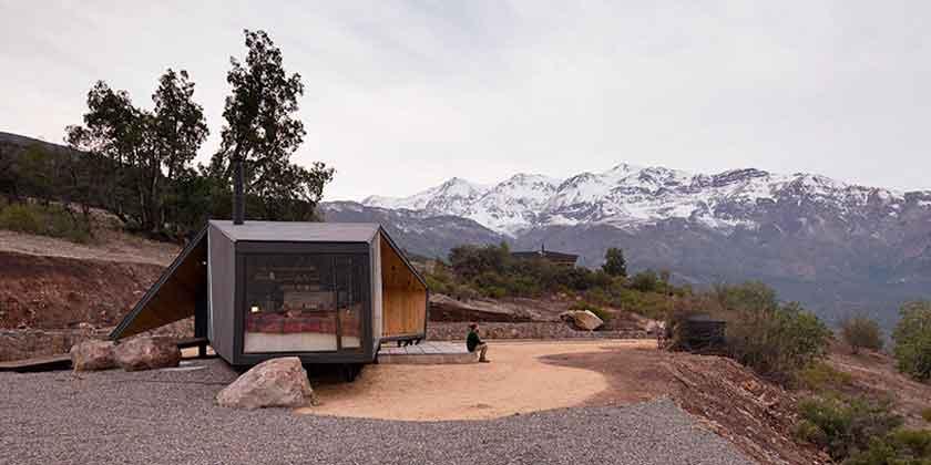 Дом в Чилийских Андах от Gonzalo Iturriaga Arquitectos