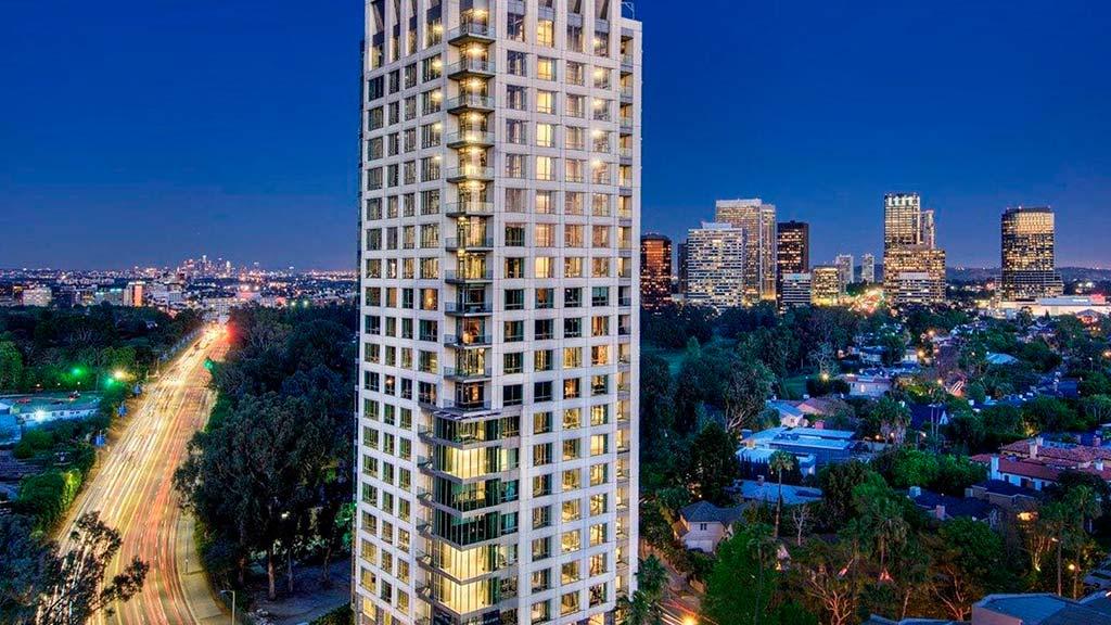 Башня Beverly West Residences в Лос-Анджелесе