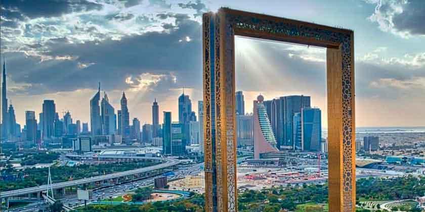 В Дубае построен небоскреб-рамка. Крупнейший в мире