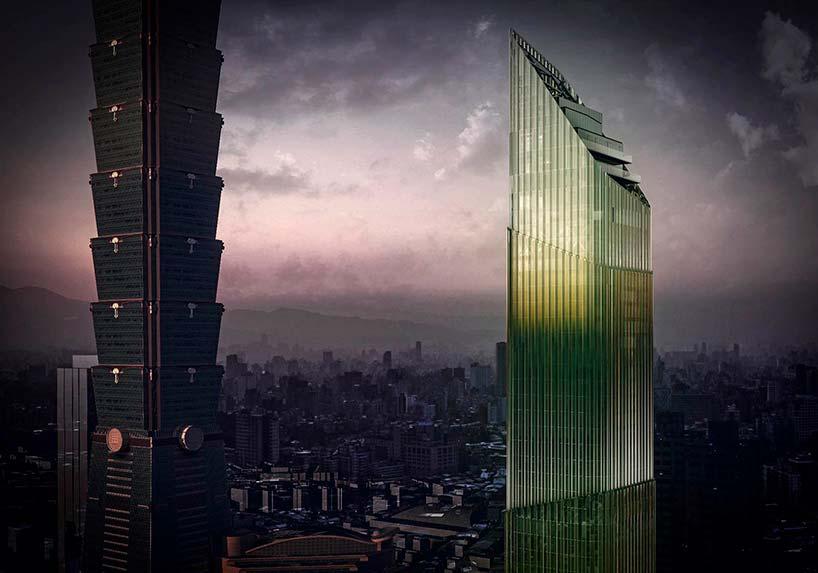 Новый небоскреб в Тайбэе от Citterio-Viel & Partners