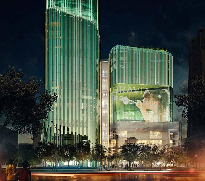 54-этажный небоскрёб в Тайбэе от Citterio-Viel & Partners