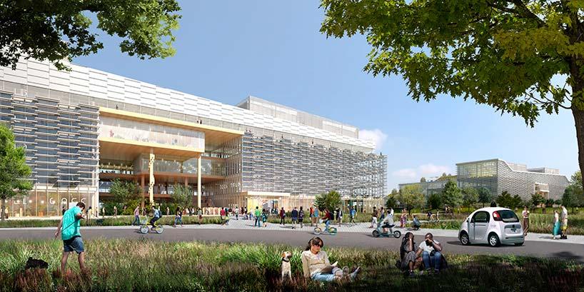 Новый кампус Google в Саннивейле. Проект от BIG