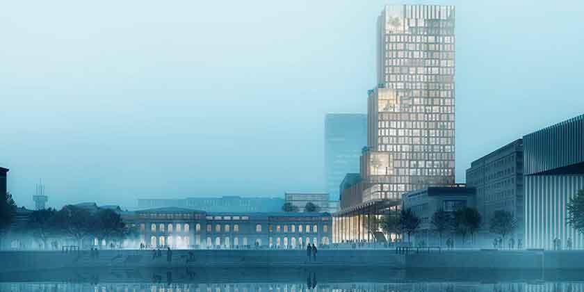 В Осло построят новый небоскреб по проекту Рейульфа Рамстада
