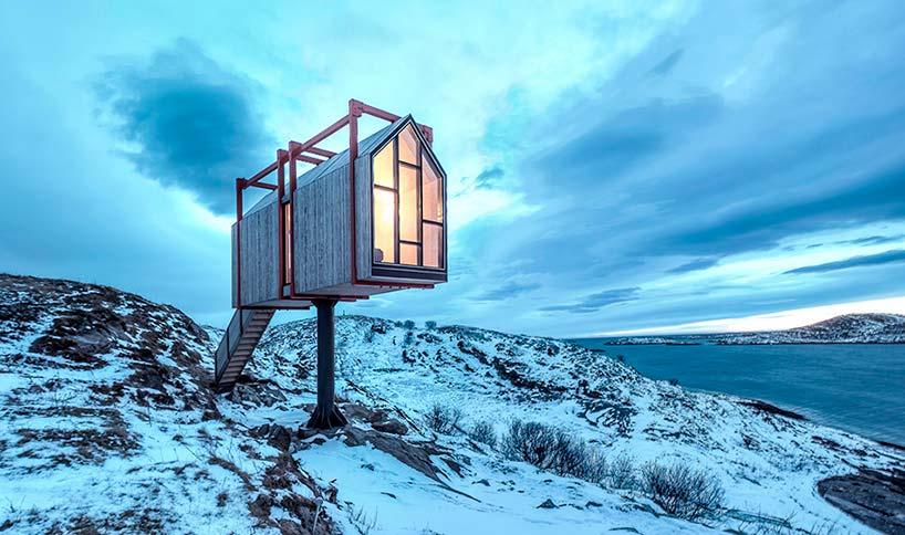 Загородный дом в Норвегии. Проект TYIN Tegnestue