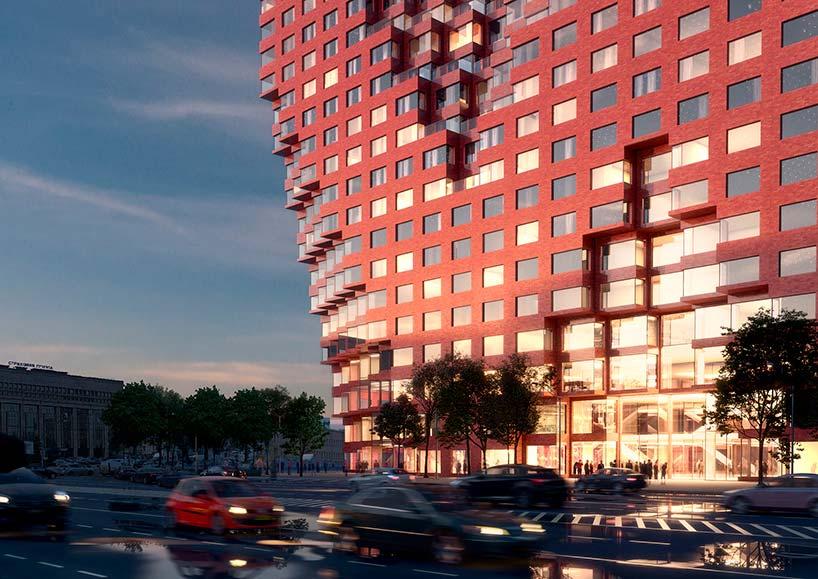 78-метровое здание в Москве от MVRDV