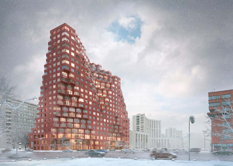 78-метровая башня в Москве от MVRDV