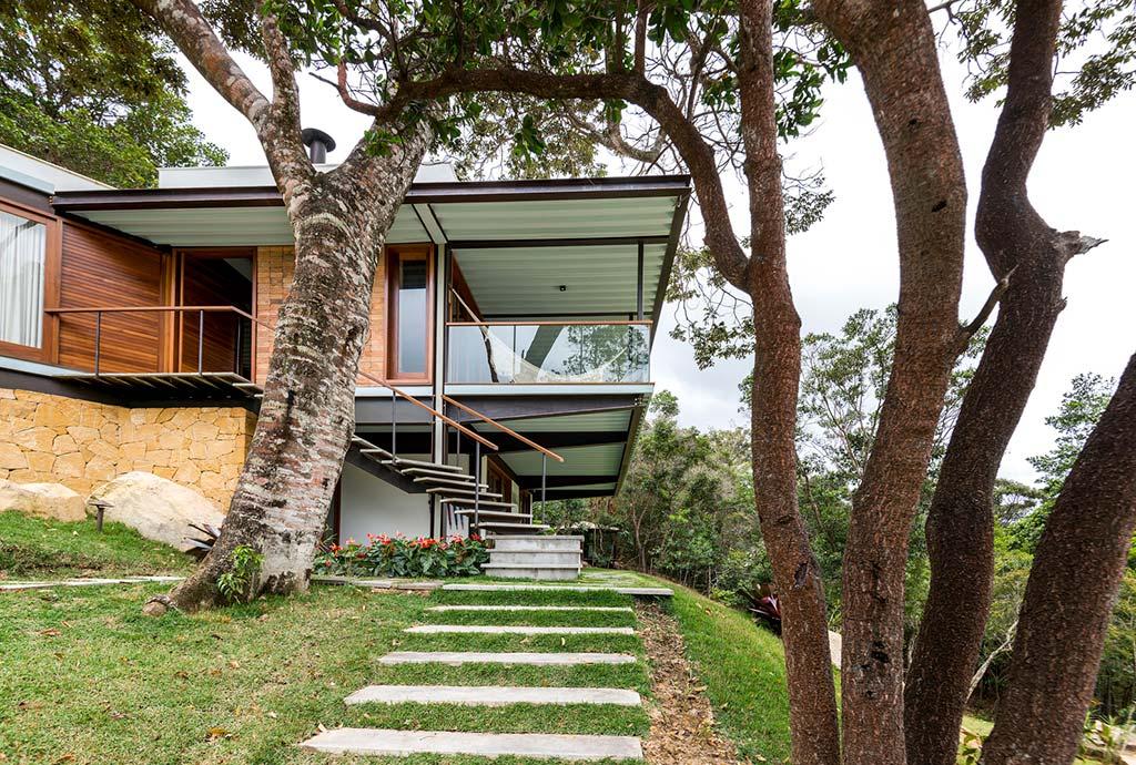 Фото | Тропинка к дому от G Arquitetura e Urbanismo