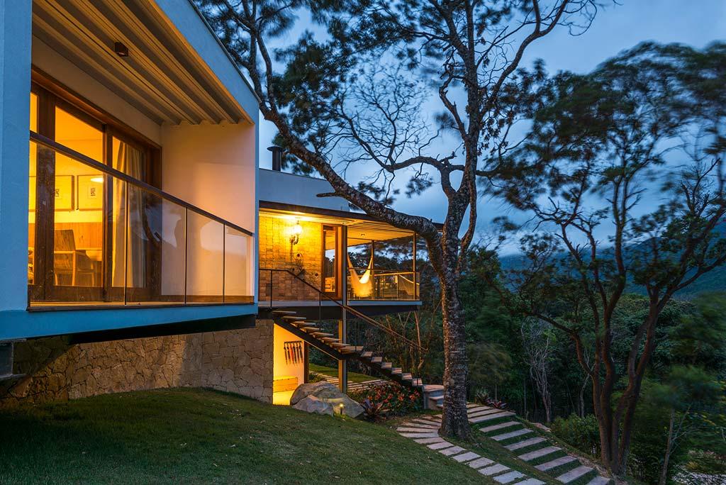 Эко-дизайн дома от G Arquitetura e Urbanismo