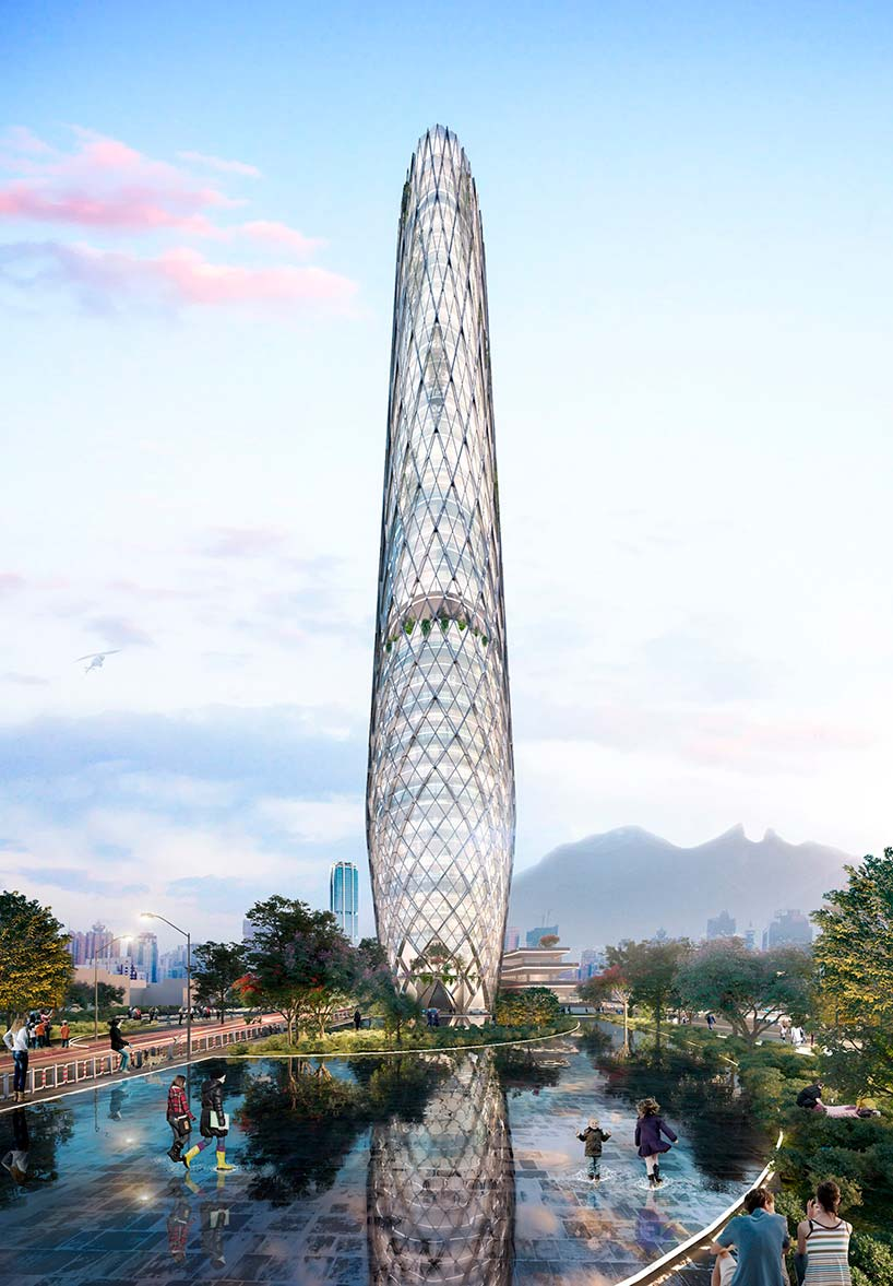 Самая высокая башня Монтеррея в Мексике. Проект SMA