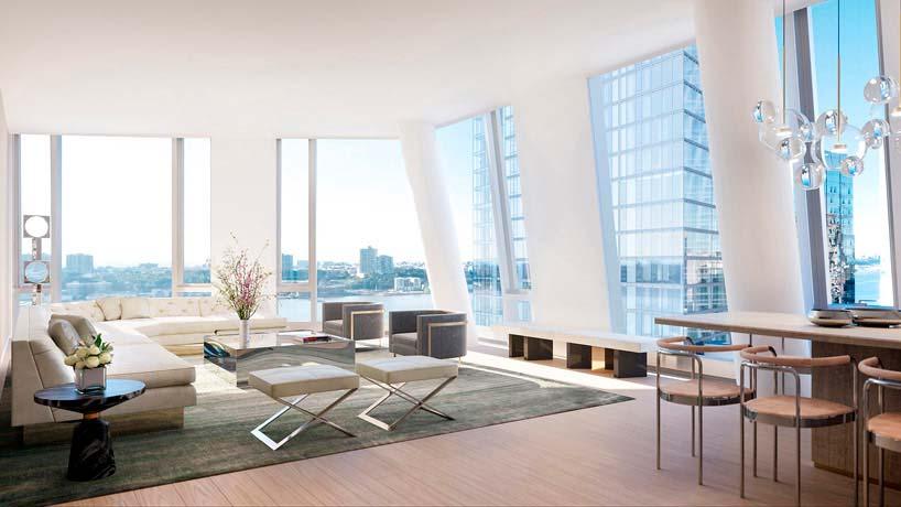 Элитная квартира в небоскребе на Манхэттене Groves & Co