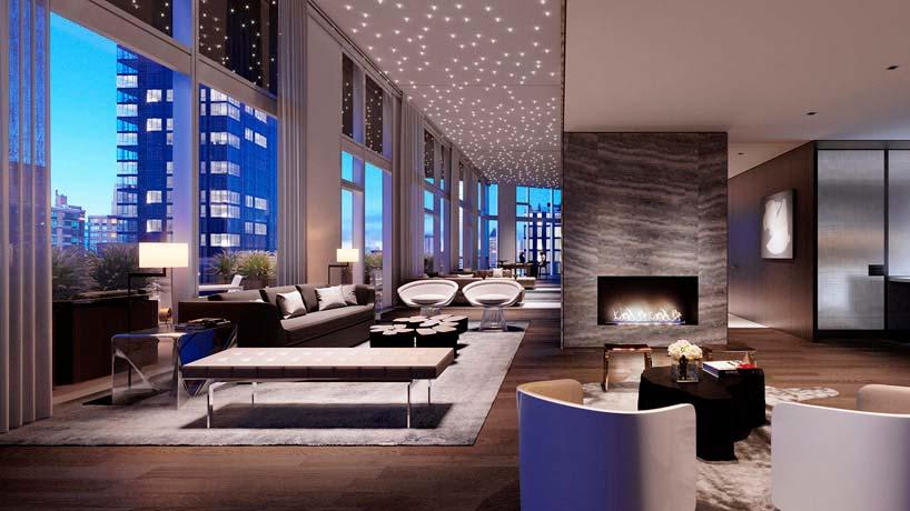 Дизайн панорамной квартиры от Groves & Co