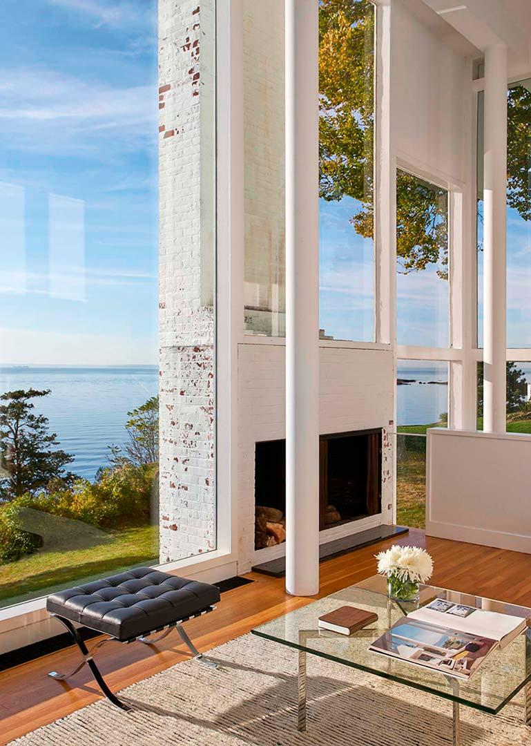 Дом с видом на Лонг-Айленд от Ричарда Мейера