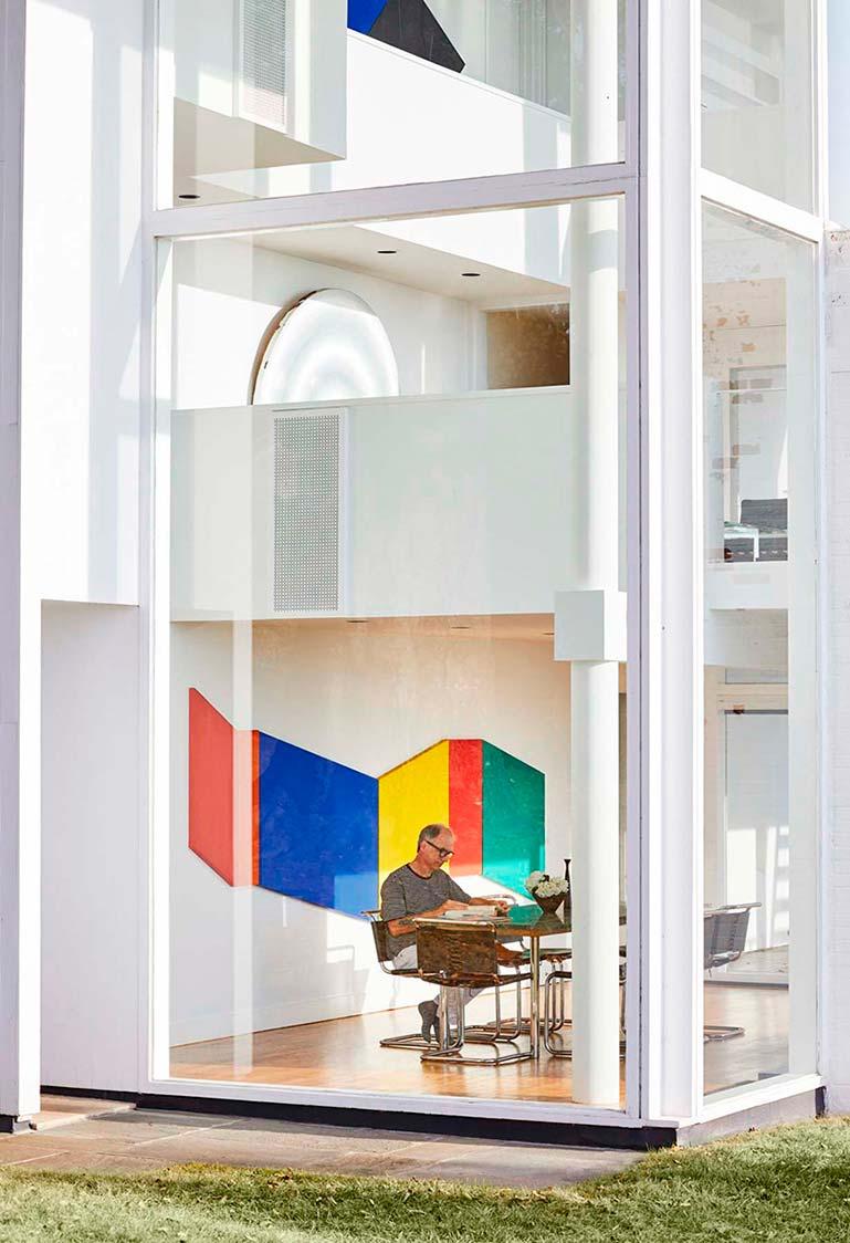 Смитс Хауз в стиле архитектурный модернизм от Ричарда Мейера