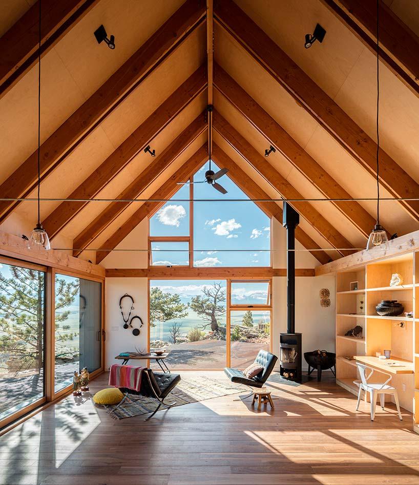Современный деревянный дом от Renee del Gaudio Architecture
