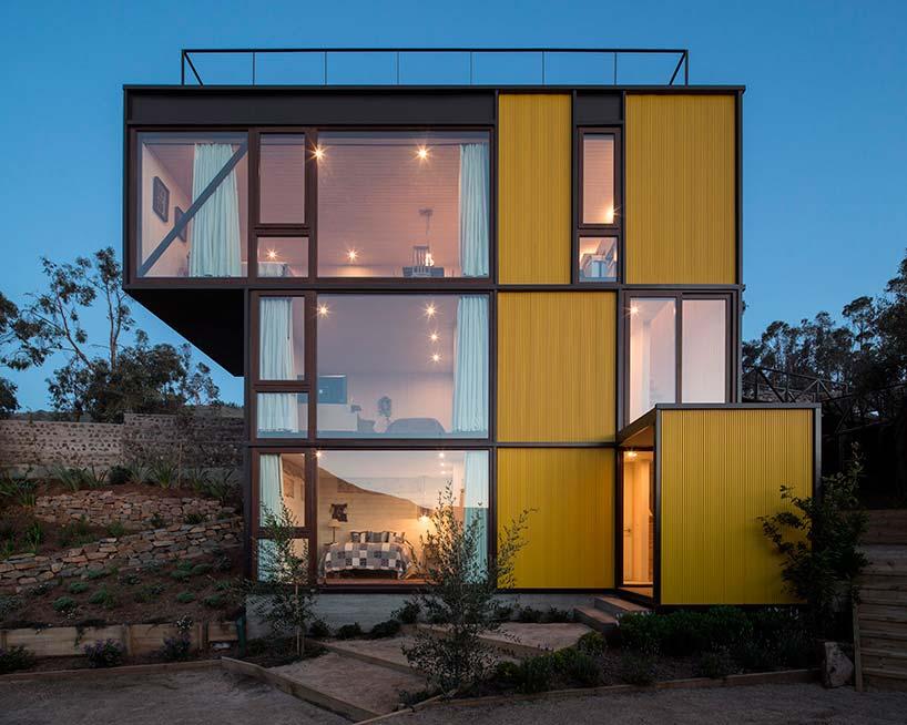 Дом-тетрис в Чили. ПроектAguilo Pedraza Arquitectos
