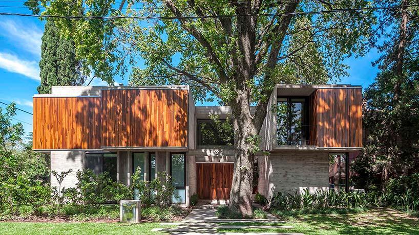 Красивый дом в Аргентине